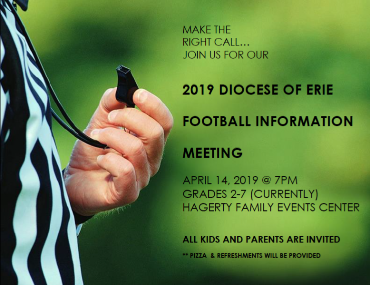Diocese of Erie Football Informational Meeting