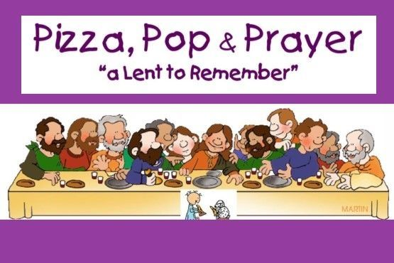 Pizza, Pop, & Prayer