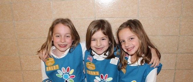 A picture of our Brownie Troop
