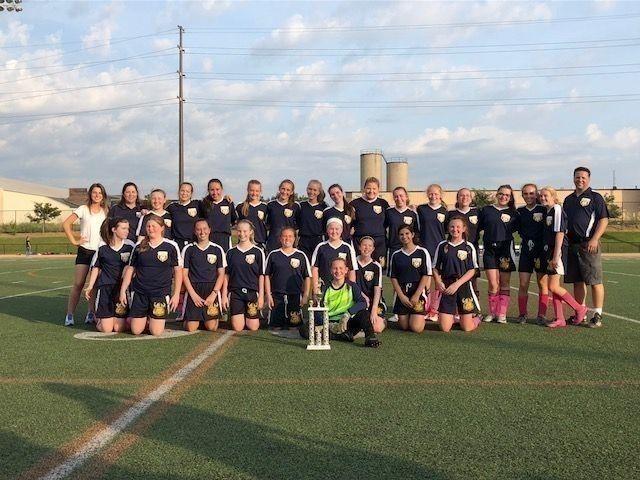 St Jude School Girls Varsity Soccer Champs